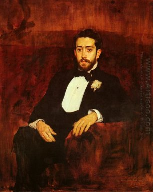 Portrait Of Lawyer Don Silverio De La Torre Y Eguia 1893