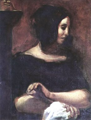 Portrait Of George Sand 1838