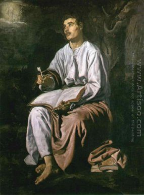 St John the Evangelist at Patmos c. 1618