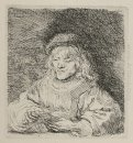 A Man Playing Cards 1641