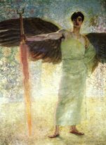 Angel with the Flaming Sword