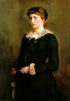 A Jersey Lily Portrait Of Lillie Langtry