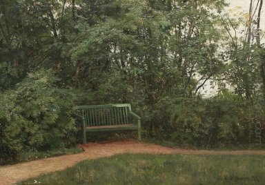 Bench At The Mall 1872