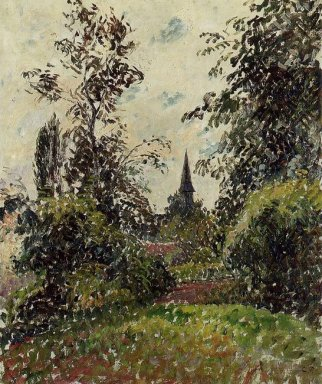 the bazincourt steeple study 1895