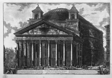 View Of The Pantheon Of Agrippa 1