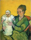 Mother Roulin With Her Baby 1888 1