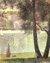 The Seine At Courbevoie 1885