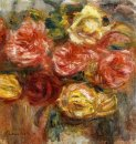 Bouquet Of Roses In A Vase 1900