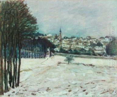 snow at marly le roi 1876