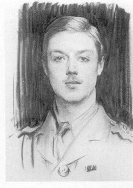 Portrait Of Albert Spencer 7Th Earl Spencer 1915