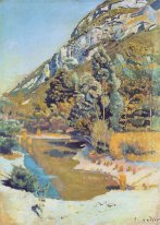 At The Foot Of The Petit Saleve 1890