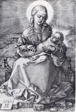 madonna with the swaddled infant 1520