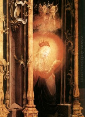 The Virgin Illuminated Detail From The Concert Of Angels From Th