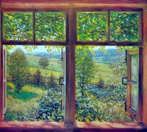 Open Window Ligachevo 1947