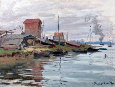 The Seine At Petit Gennevilliers 1872