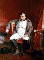 Napoléon Bonaparte abdicated in Fontainebleau
