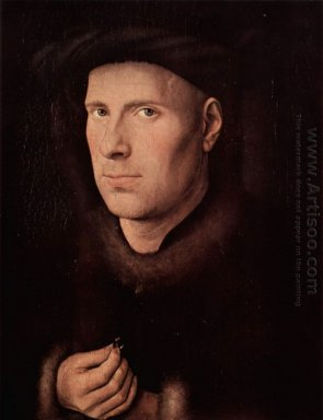 Portrait Of Jan De Leeuw 1436