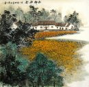 A countryside - Chinese Painting
