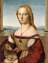 Portrait Of A Lady With A Unicorn 1506