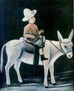 A Boy On A Donkey
