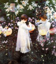 Carnation Lily Lily Rose From The World S Greatest Paintings Pub