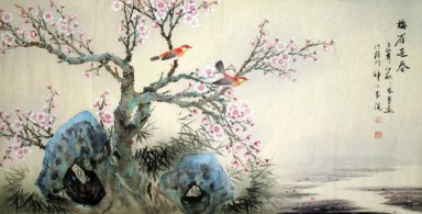 Plum-Birde - Chinese Painting