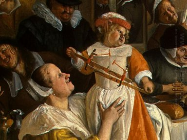 Dancing Couple Detail 1663 10