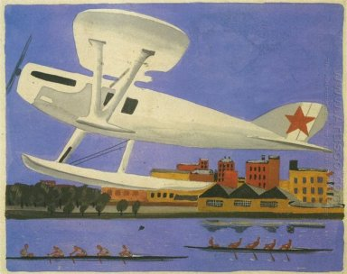 takeoff seaplane fig children s books in the cloud 1930