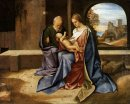 The Holy Family Madonna Benson 1500
