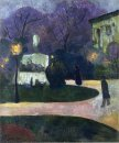 Square With Street Lamp 1891