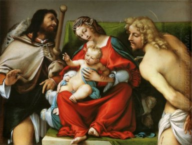 Madonna With St Roch And St Sebastian