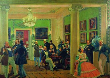 In The Living Room In Moscow In 1840 S 1912