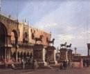 capriccio the horses of san marco in the piazzetta 1743