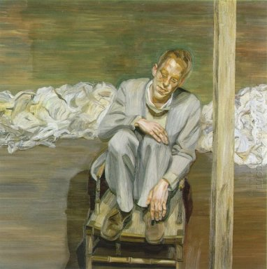 Red Haired Man On A Chair 1963