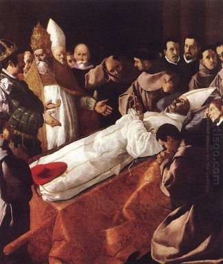 The Death Of St Bonaventura 1629