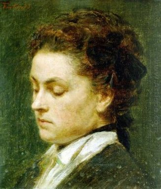 Portrait Of Young Woman 1873