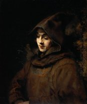 Titus Van Rijn In A Monk S Habit 1660