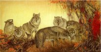 Wolf - Peinture chinoise (Famous)
