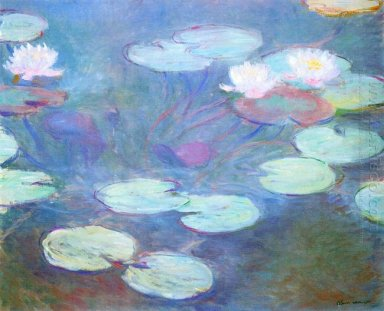 Water Lilies Pink 1899