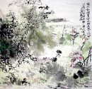 Bamboo-Window shadow - Chinese Painting