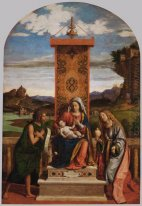 Madonna and Child with St. John the Baptist and Mary Magdalene