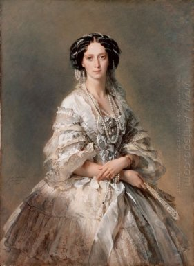 Portrait Of Empress Maria Alexandrovna 1857