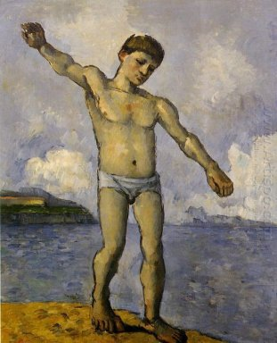 Bather With Outstreched Arms