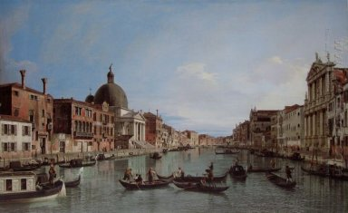 the upper reaches of the grand canal with s simeone piccolo 1738