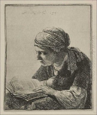 A Young Woman Reading 1634