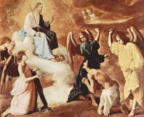 Dera Of St Jerome By The Angels 1639