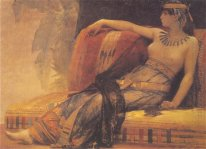 Cleopatra, preparatory study for 'Cleopatra Testing Poisons on t