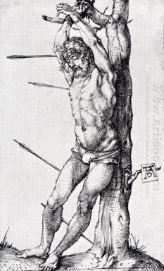 st sebastian at the tree 1501