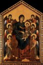 Virgin Enthroned With Angels 1295