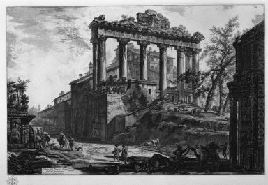 View Of The Temple Of Concord
